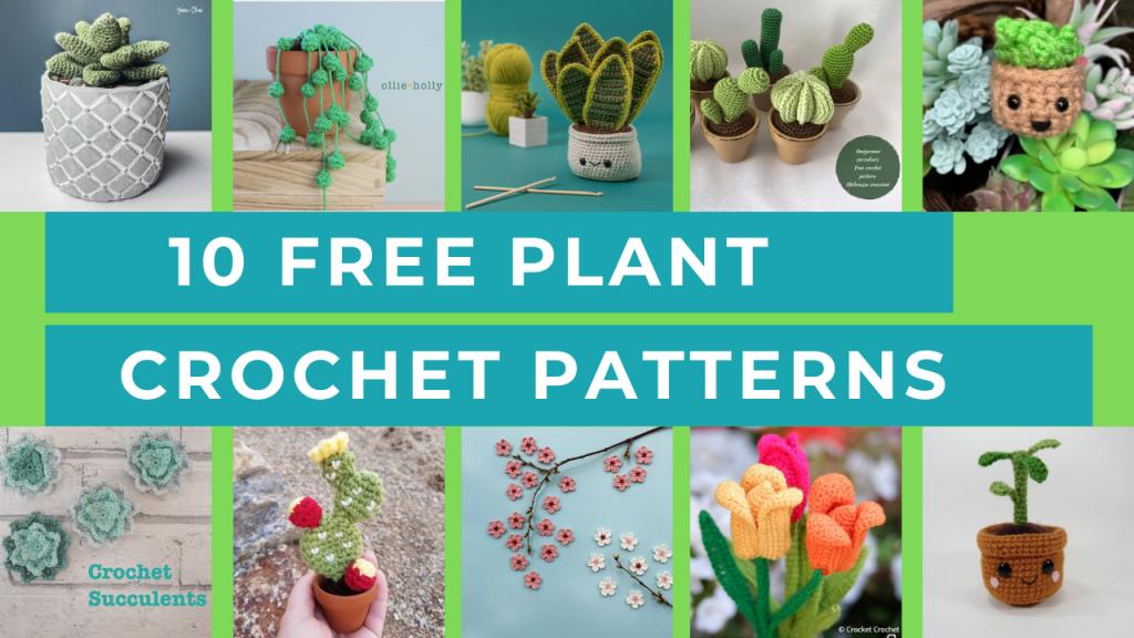 plant crochet patterns